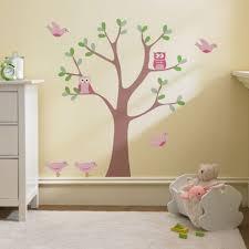 Owl Bedroom Decor Kids Fabulous Owl Bird Nursery Wall Decal Animal Removable Wall Sticker