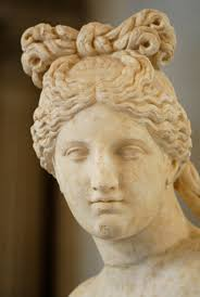 Ancient Roman Hair Style head of a capitoline venus displaying an ancient greek or roman 6542 by wearticles.com