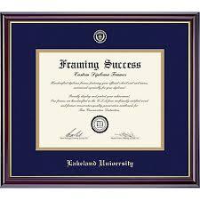 lakeland university bachelor x diploma frame lakeland university framing success lakeland university bachelor 7 x 9 diploma frame