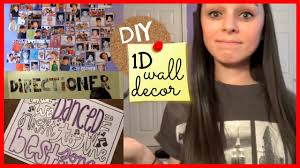 One Direction Bedroom Decor Diy One Direction Wall Decor Youtube
