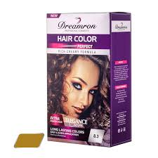 Dreamron Hair Color Chart Dreamron Hair Colour Pack Permanent 8 3 Light Gold Blond