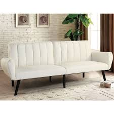 mattress for sleeper sofa. Costway Sofa Futon Bed Sleeper Couch Convertible Mattress Premium Linen Upholstery Beige 0 For D