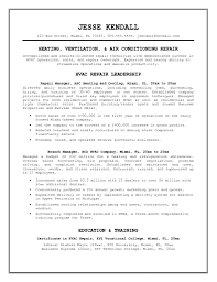 Hvac Project Engineer Experience Resume Refrigeration Samples Sample