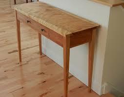 red hallway table. top red hallway table with hardwood shaker hall hawk ridge furniture st s