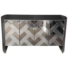 smoked mirrored furniture. Furniture Mid Century Modern Ello Chrome, Smoked Glass And Mirror Credenza Mirrored S