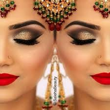 image result for bollywood makeup