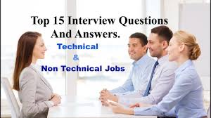 Top 15 Interview Questions And Answers For Technical Non
