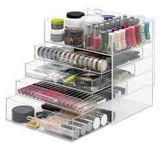 makeup organizer countertop acrylic makeup organizer drawers bathroom counter makeup organizer