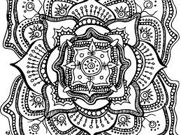 Small Picture Coloring Pages Kids Flower Mandala Coloring Page Mandala