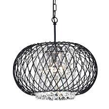 chandeliers crystal drum chandelier co 3 light reviews cassiel dark