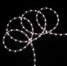 christmas rope lighting. 100\u0027 Cool White LED Rope Light 2-Wire Flexible Home Outdoor Christmas Decorative - Walmart.com Lighting