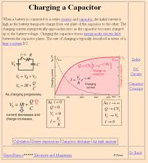 filter formulas for specific capacitance measures electrical