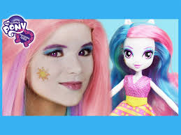 my little pony princess celestia makeup tutorial equestria doll cosplay kittiesmama you
