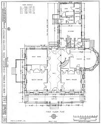 ColemanHollister House First Floor Massachusettes  Cat On A Historic Homes Floor Plans