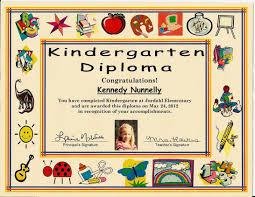 Principal Award Certificate Printable Certificate For Kindergarten Graduation Template
