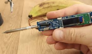 improved diy portable soldering iron