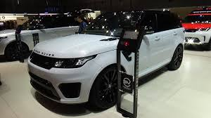 2018 land rover range rover sport. interesting range 2018 range rover sport svr  exterior and interior geneva motor show 2017 on land rover range sport