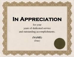 Award Certificates Diploma Word Templates Clip Art Wording