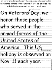what s new at com early  rewrite the paragraph rewrite the paragraph about veterans day