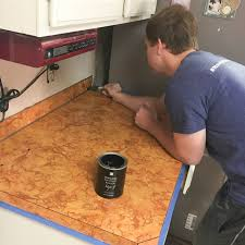 Diy Kitchen Countertops Diy Countertop Makeover