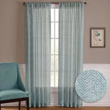 Living Room Window Treatments Aliexpresscom Buy Nicetown One Pair Zig Zag Chevron Pattern