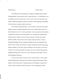 the death penalty essay madrat co the death penalty essay