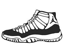 jordans shoes drawings easy. drawing; amazon jordan 11 shoe sneaker vinyl sticker decal nike space jam concord car truck auto window jordans shoes drawings easy w