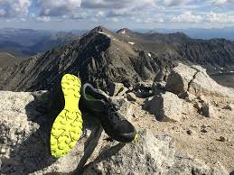 new balance vazee summit v2. the new balance vazee summit v2 shown on top of fletcher mountain in tenmile range