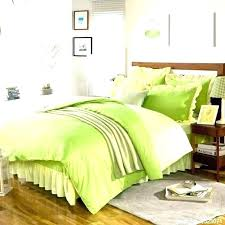 satin weave cotton thread count pure color light green duvet cover comforter sets king mint green