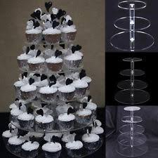 wedding cupcake stands. Modren Stands Layers Acrylic Cupcake Display Stand Serving Table Platter Rack Wedding  Party US For Stands C