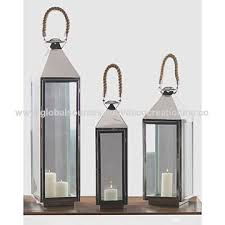 india stainless steel candle lantern with jute rope handle whole stainless steel candle lantern