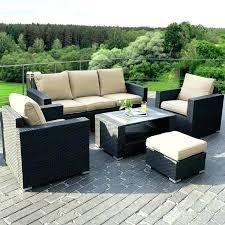 argos garden furniture rattan rattan garden set