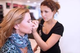 a makeup artist or an esthetician