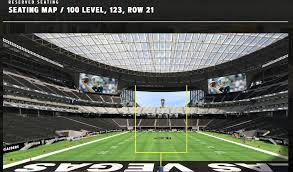 Oracle Arena Seating Chart Raiders Officially Own A Psl For The Las Vegas Raiders Just Winning
