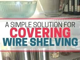 wire pantry shelves wire shelving making storage a pain this is an easy inexpensive solution to wire pantry shelves