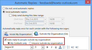 Automatic Respond Out Of Office Exceptions Dont Reply To Everyone Msoutlook Info