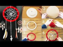 Dream Catcher Patterns Step By Step DIY Super Easy Way to Make a Dreamcatcher Step by step Easy 40