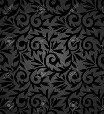 Seamless Fancy Floral Background Royalty Free Cliparts Vectors And