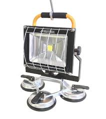 3300 Led Portable Rechargeable Floodlight W Suction Cup Base