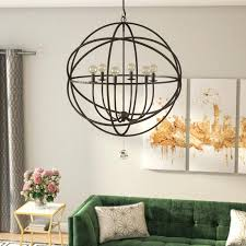 cage style chandelier 6 light candle style chandelier birdcage style chandeliers