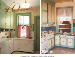 40 Something A 1940s Kitchen Make Over Vintage Home Charm