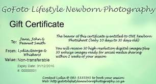 Photography Gift Certificate Template Blank Gift Certificate Template Photography Voucher Promo Templates