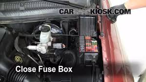 replace a fuse lincoln town car lincoln town car 6 replace cover secure the cover and test component