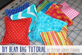 totally stitchin diy bean bag tutorial