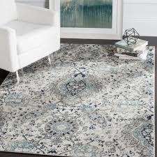 safavieh madison bohemian cream light grey rug 5 1 x 7 6