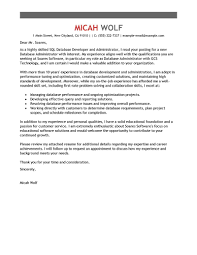Best Computers Technology Cover Letter Samples Livecareer Resume