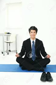 meditation in office. Meditation Techniques In Office Ideas Businessman Meditating Stock Photo 7834133 Space