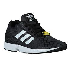 adidas kids shoes. adidas originals boys shoes black zx flux kids running