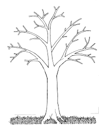 Small Picture Best 25 Tree outline ideas only on Pinterest Tree templates