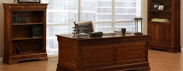 phillipe solid wood office desk